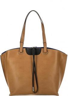 Кожаная сумка со съемным отделением Gianni Conti