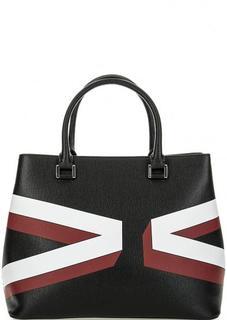 Кожаня сумка с короткими ручками Gianni Conti