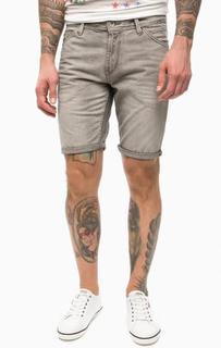 Серые шорты из денима Tom Tailor Denim