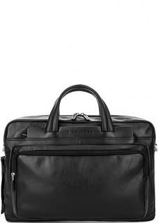 Кожаная сумка с отделением для ноутбука Piquadro