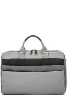 Вместительная текстильная сумка Piquadro