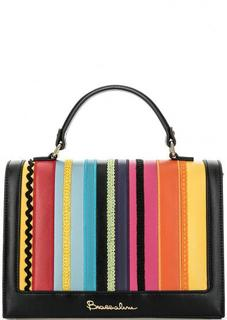 Разноцветная сумка с короткой ручкой Braccialini