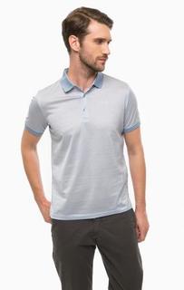 Хлопковая футболка поло с короткими рукавами Lagerfeld