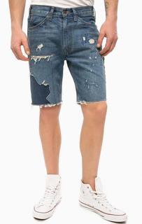 Синие джинсовые шорты с потертостями Levis®