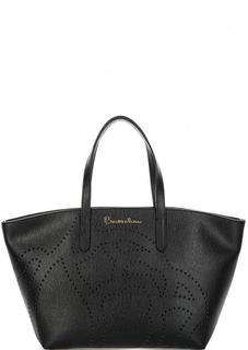 Черная сумка с двумя ручками Braccialini