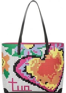 Разноцветная сумка с двумя ручками Braccialini