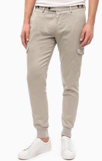 Серые брюки с накладными карманами Cinque
