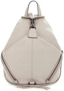 Кожаный рюкзак с боковыми карманами Rebecca Minkoff