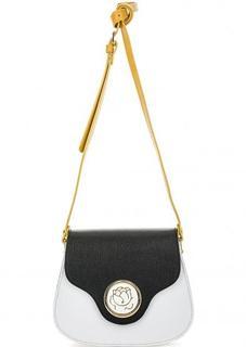 Маленькая сумка из сафьяновой кожи с откидным клапаном Braccialini