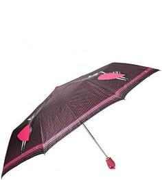 Складной зонт в полоску Zest