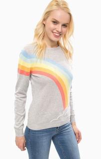 Тонкий джемпер с разноцветным рисунком Sugarhill Boutique