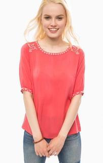 Блуза из вискозы свободного кроя Sugarhill Boutique