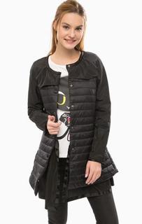 Удлиненная легкая куртка на кнопках Silvian Heach