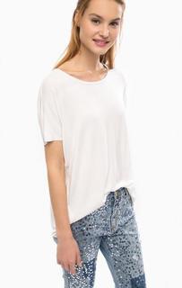 Белая футболка с короткими рукавами Silvian Heach