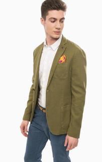 Пиджак на пуговицах с платком Scotch&Soda