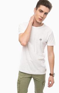 Базовая хлопковая футболка Tom Tailor Denim