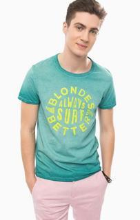 Хлопковая футболка с круглым вырезом Scotch&Soda