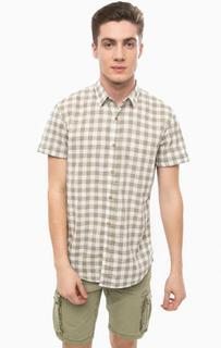 Рубашка с короткими рукавами в клетку Tom Tailor Denim