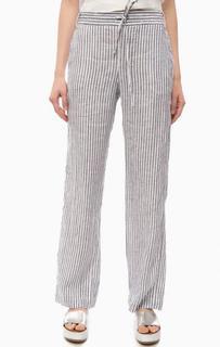 Льняные брюки в полоску Pennyblack