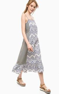 Платье из хлопка на тонких бретелях Pennyblack