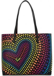 Разноцветная сумка с длинными ручками Braccialini