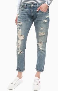 Рваные джинсы бойфренды D&S Ralph Lauren