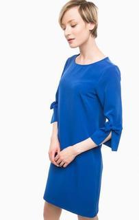 Короткое однотонное платье Pois
