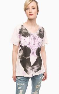 Хлопковая футболка оверсайз Gas