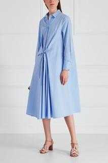 Хлопковое платье-рубашка Victoria Andreyanova