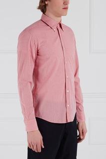 Хлопковая сорочка Rubens Hugo Boss