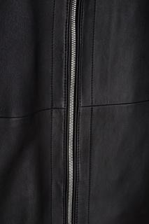Кожаная куртка Nartimo Hugo Boss