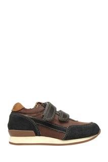 Кроссовки из кожи и текстиля Ten Jog Line 10 IS