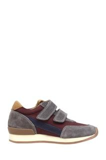 Кроссовки из замши и текстиля Ten Jog Line 10 IS