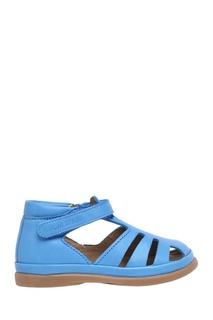 Кожаные сандалии Newfleks Leon POM Dapi