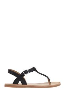 Кожаные сандалии Plagette Antic Tong POM Dapi