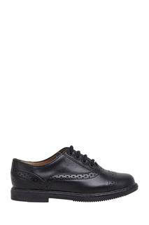 Кожаные ботинки-броги City Richelieu POM Dapi