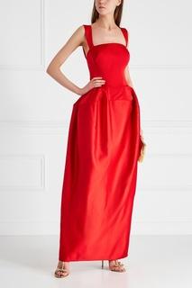 Платье в пол Zac Posen