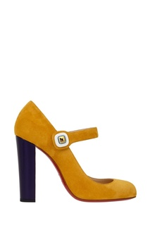Замшевые туфли Bibaba 100 Christian Louboutin