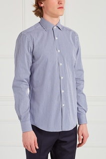 Хлопковая рубашка Salvatore Ferragamo