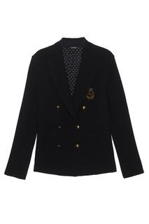 Пиджак из шерсти и хлопка Dolce & Gabbana