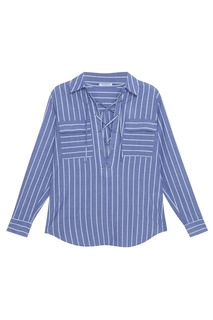 Хлопковая блузка Equipment Femme