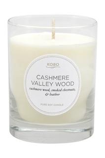 Ароматическая свеча Cashmere Valley Wood Kobo Candles