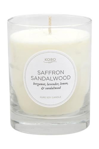 Ароматическая свеча Saffron Sandalwood