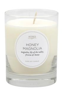 Ароматическая свеча Honey Magnolia Kobo Candles