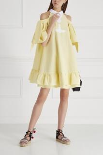Хлопковое платье Pavone Vivetta