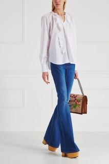 Хлопковая блузка Barbagianni Vivetta