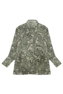 Блузка с принтом Acne Studios