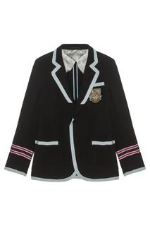 Хлопковый пиджак Gucci