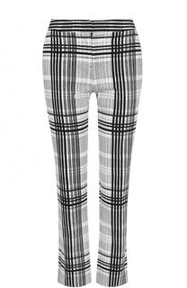 Укороченные брюки в клетку Diane Von Furstenberg