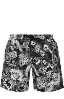 Плавки-шорты с принтом Roberto Cavalli